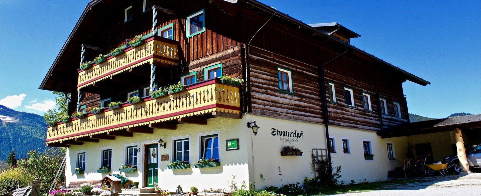Unser altes, traditionell steirisches Bauernhaus