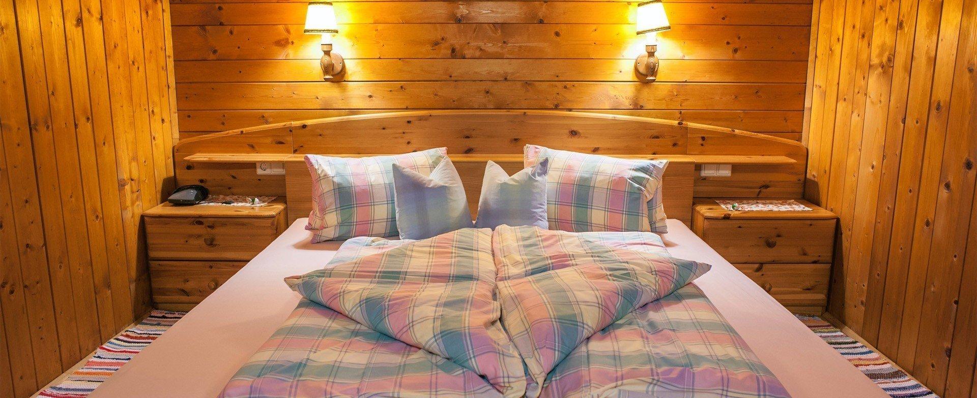 Erholsame Nächte in unseren Holzzimmern